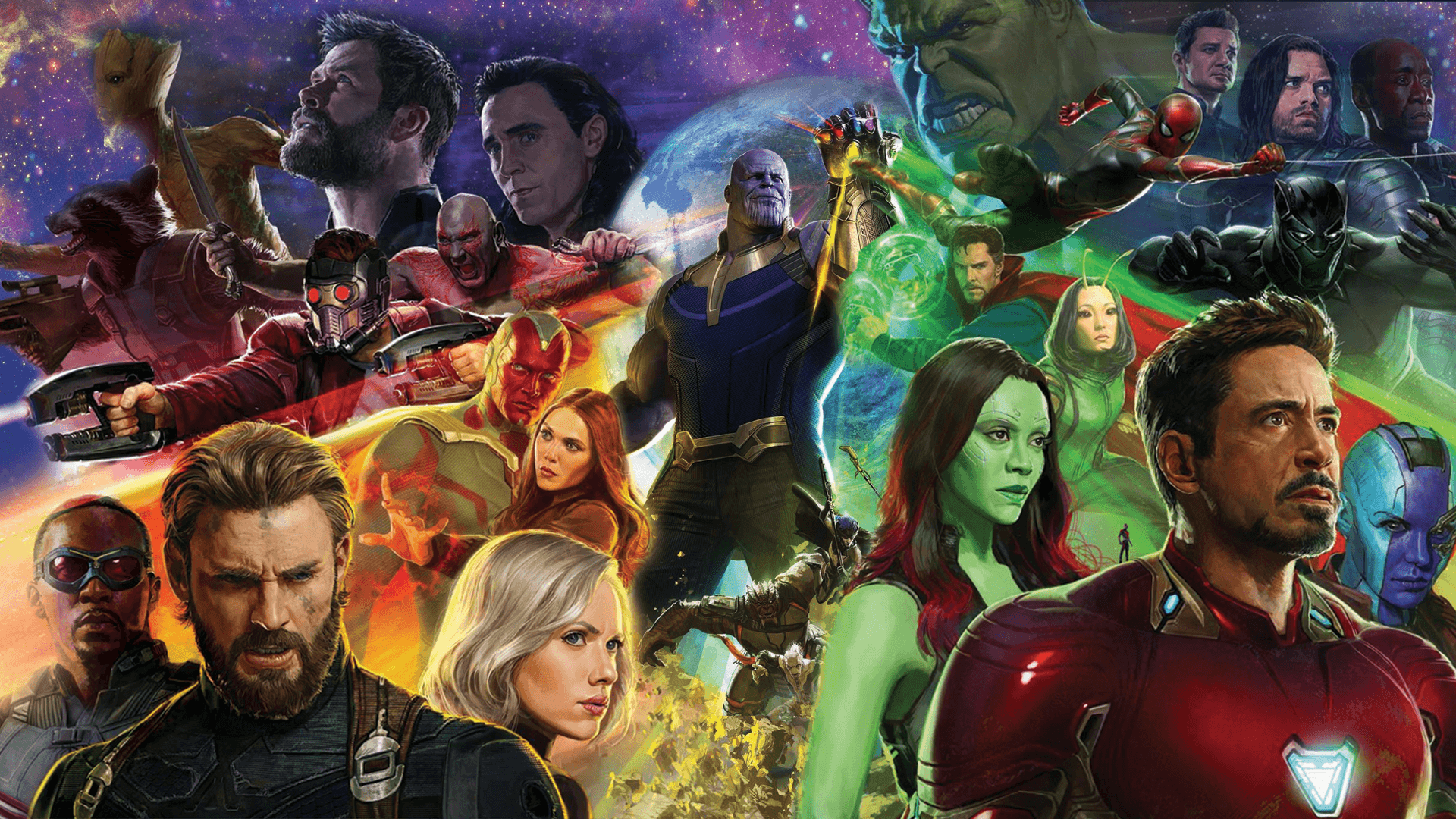 An Avengers Infinity War movie poster