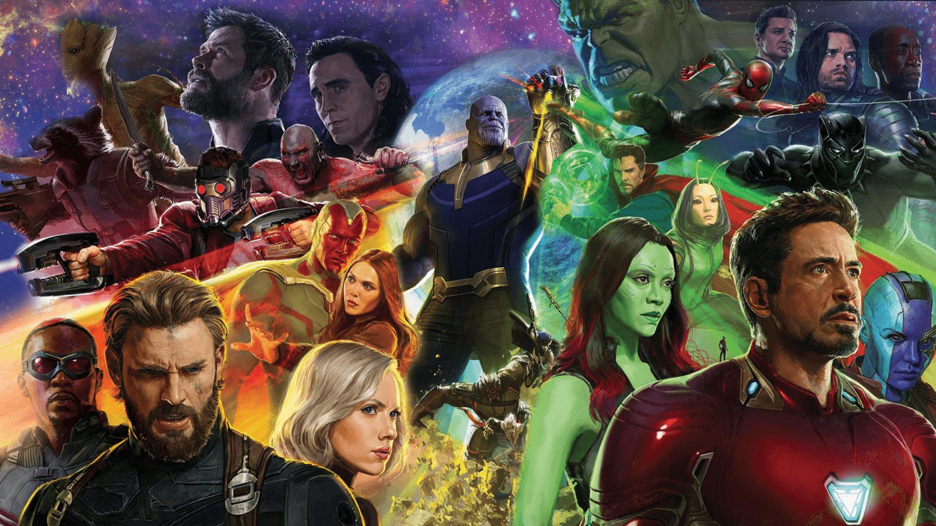 An Avengers Infinity War movie poster